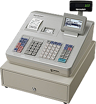 Registrierkasse Sharp XE-A 307 GDPdU-konform